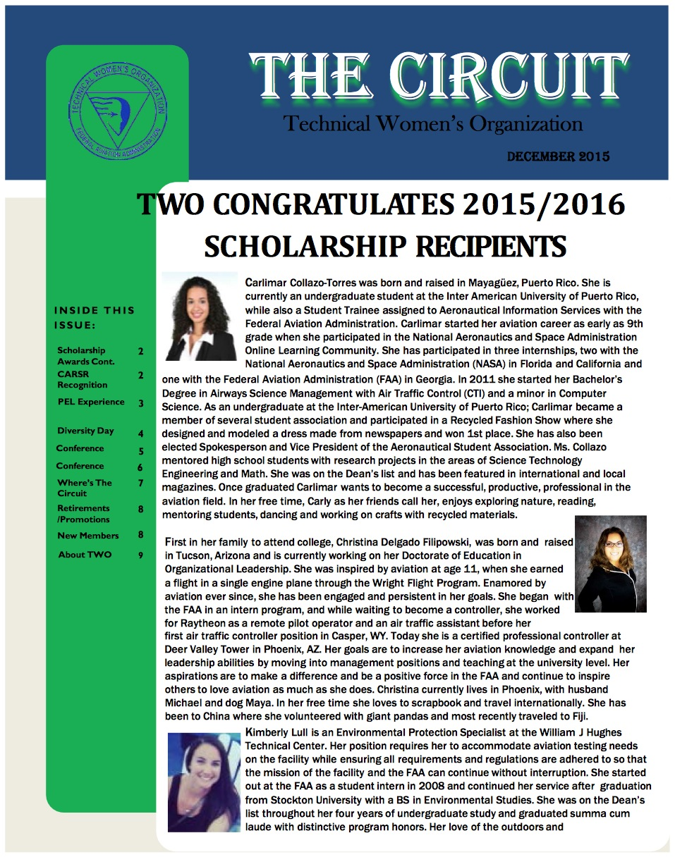 The Circuit | FAA Technical Women's Organization